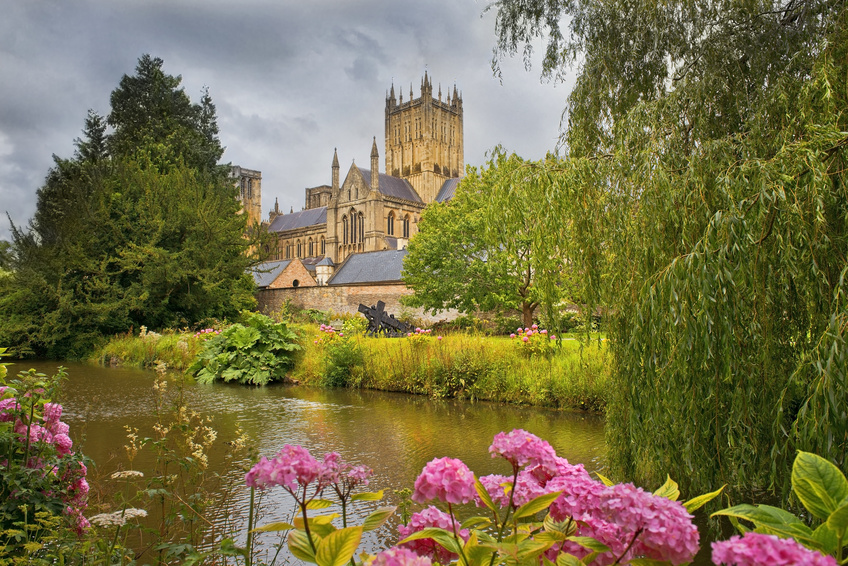 Wells Cathedral, Somerset, England. ISO Consultants In Wells