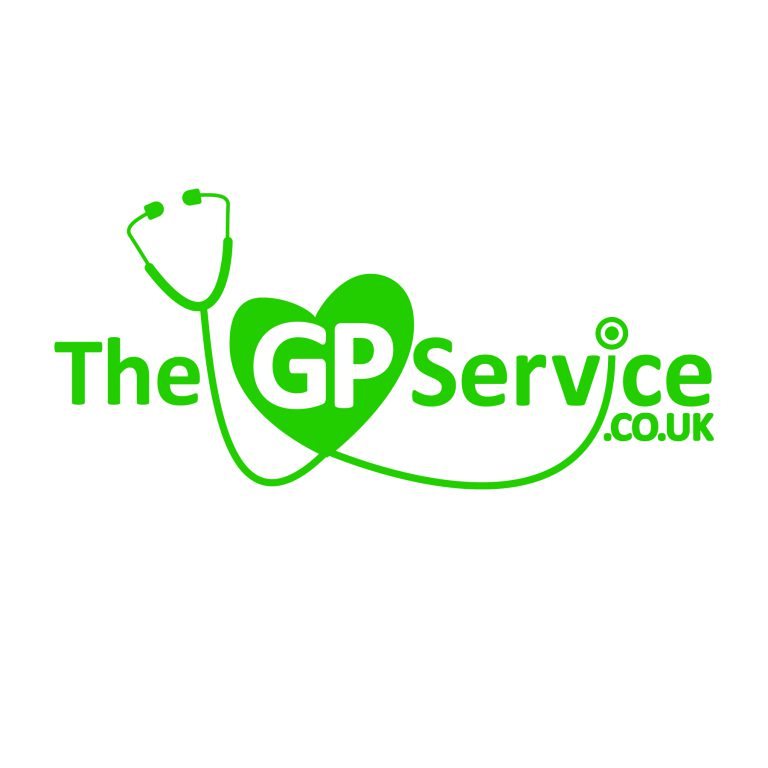 The GP Service logo
